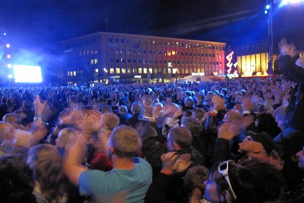Trondheim_Konsert med Åge Aleksandersen på torget_Foto: Jorunn G. Hansen