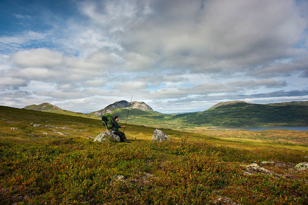 Lakavatnet. Foto: Steinar Johansen