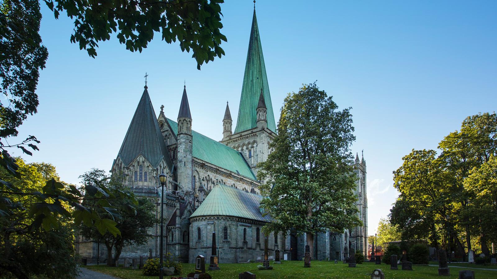 Nidarosdomen i Trondheim. Foto: Jan Ove Iversen - overpari.no / trondelag.com
