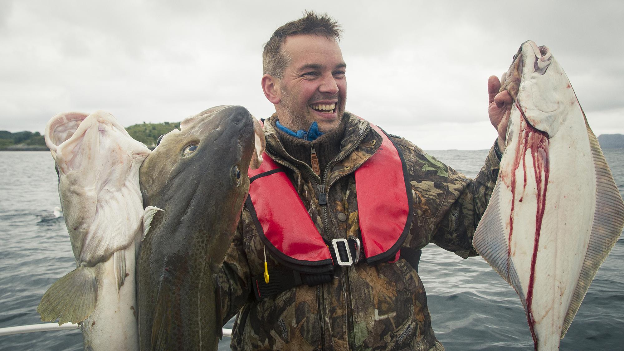 Havfiske på kysten av Trøndelag. Foto: Søderholm-Steen /trondelag.com