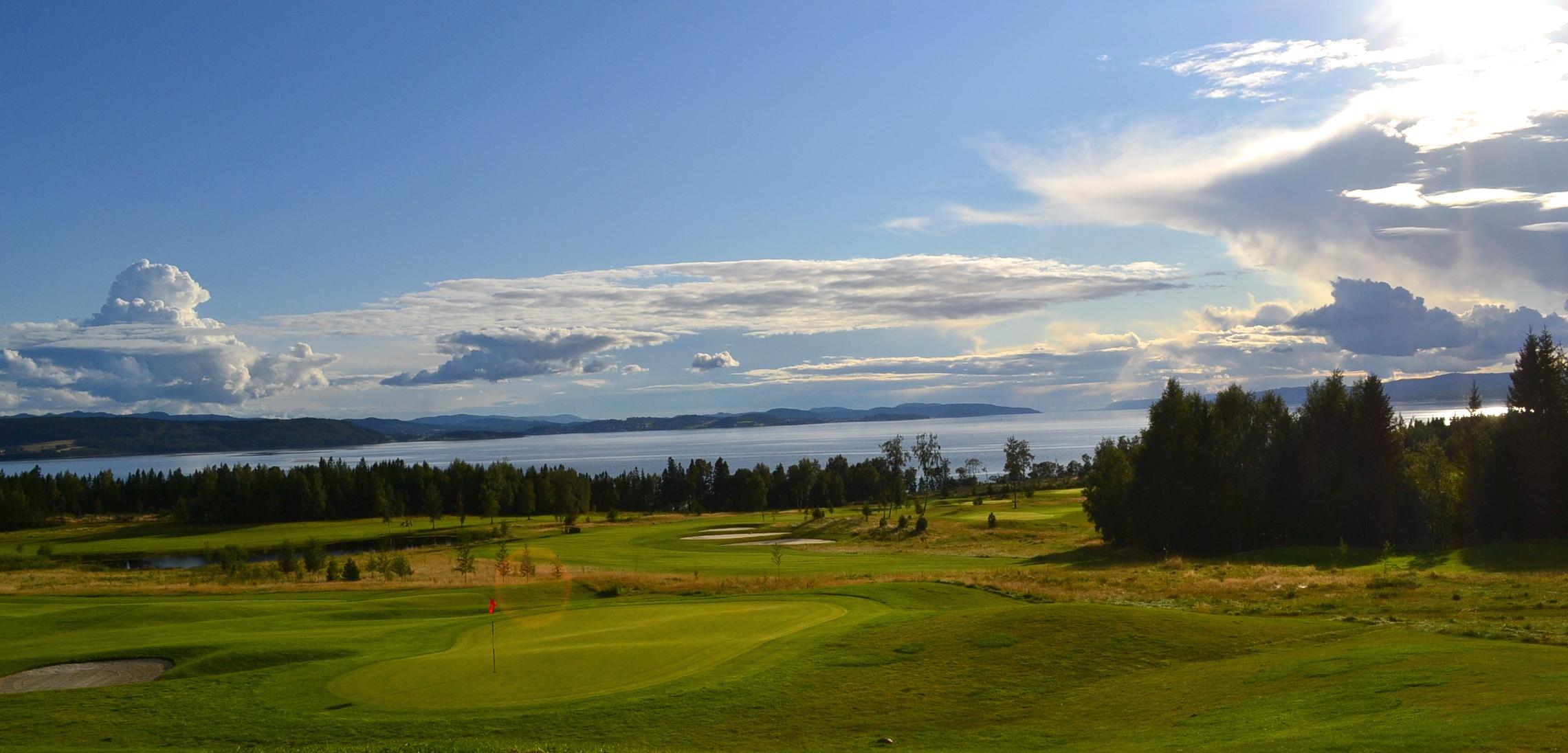 Verdal Stiklestad Golfklubb. Foto: Stiklestad Golf