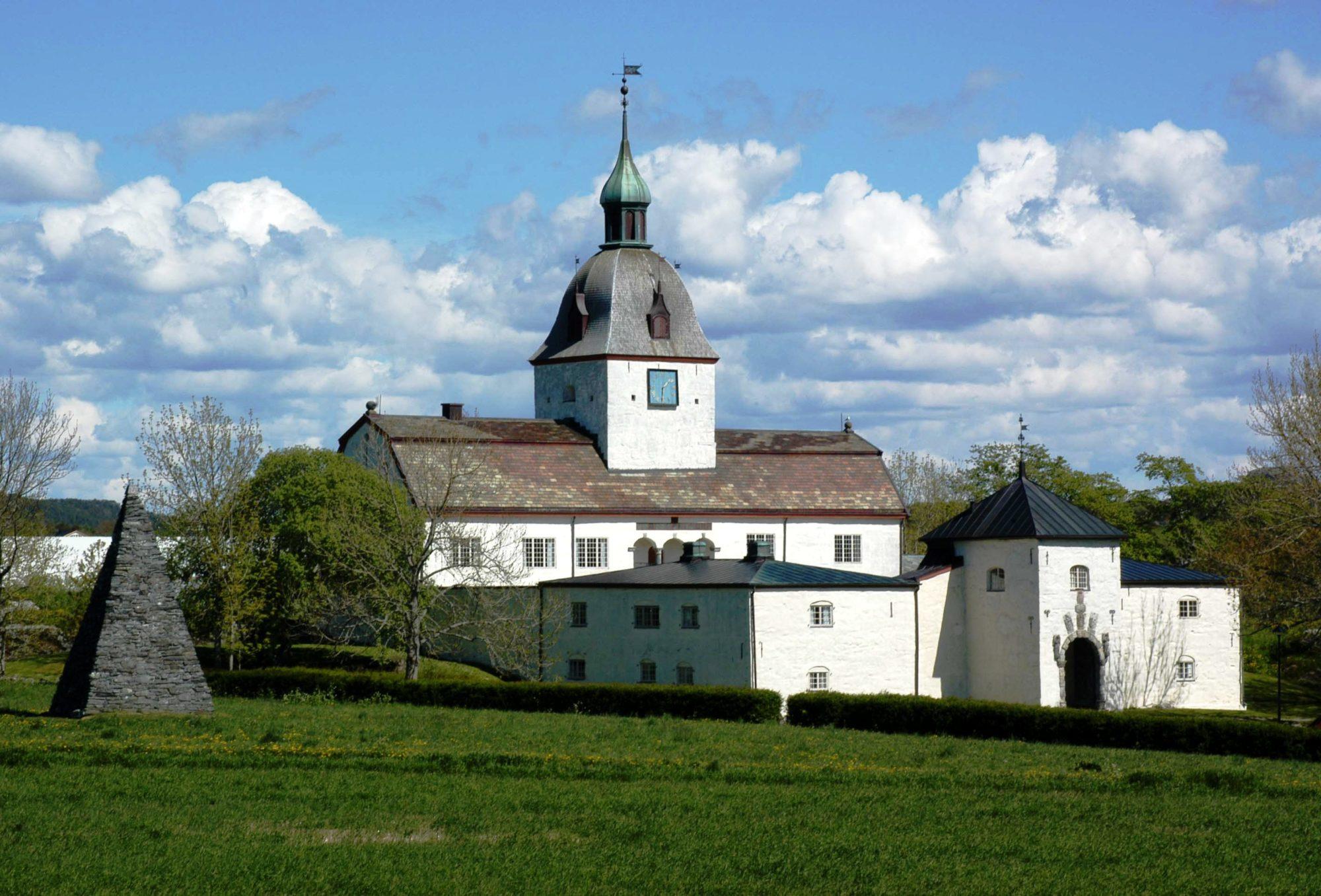 Austrått slott, på kysten av Trøndelag. Fot: Jette Petersen