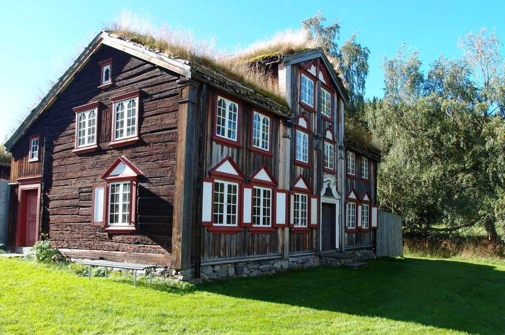 Trondheim_Sverresborg Trøndelag Folkemuseum_Foto: Runa Eggen