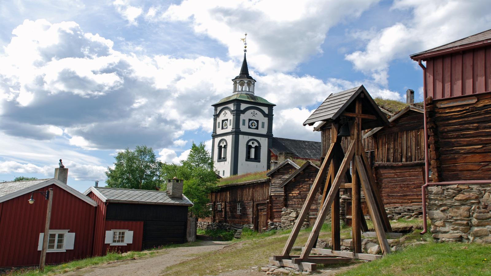 Røros, Trøndelag. Foto: Stig Rimolsrønning / trondelag.com