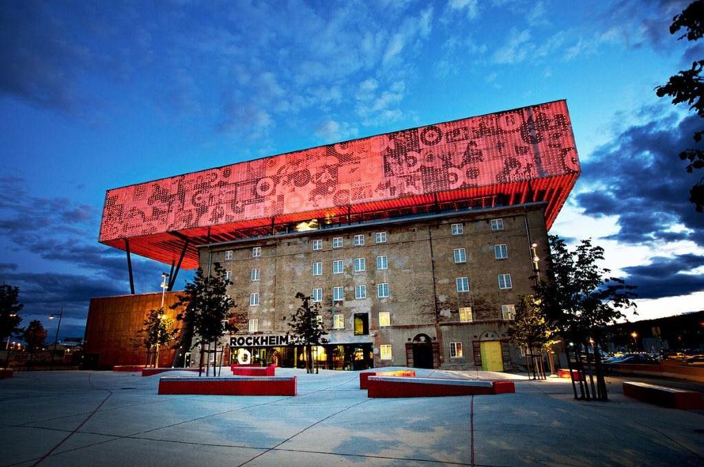 Trondheim, Rockheim - nasjonalt opplevelsessenter for pop og rock, Foto: Rockheim/Geir Mogen