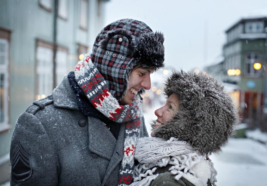 Destinasjon Røros, romantisk stemning på Røros, Foto: Kim Ramberghaug