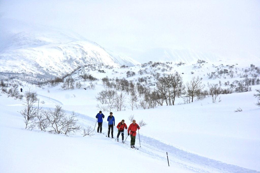 Oppdalsregionen, Skitur på Oppdal, Storlidalen, Foto: Ove Karlsvik
