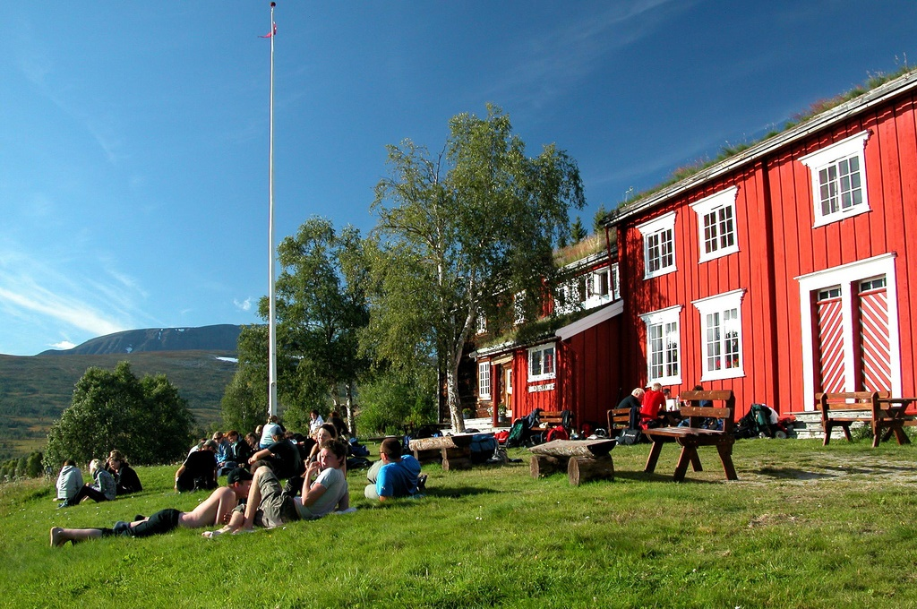 Gjevilvasshytta, Trollheimen, Trøndelag, Foto: Jonny Remmereit / Trondhjems Turistforening