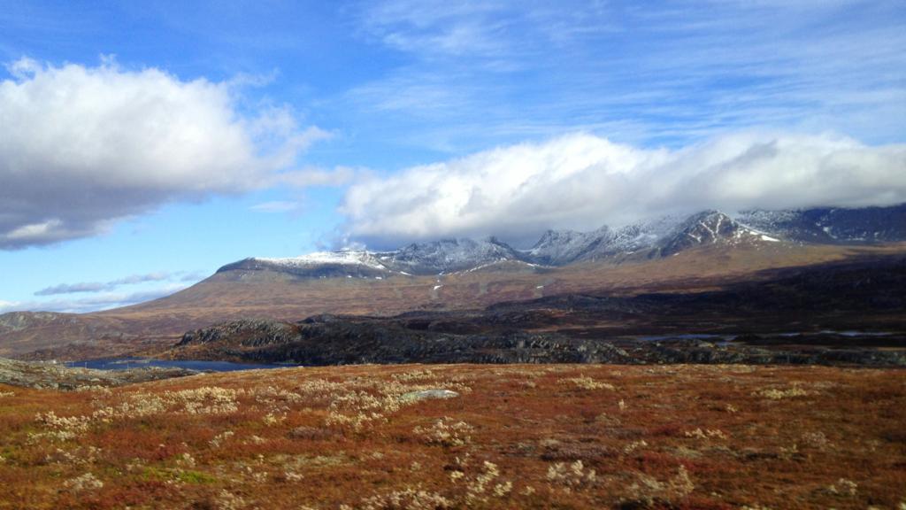 Fra hytte til hytte i Trøndelagsfjellene