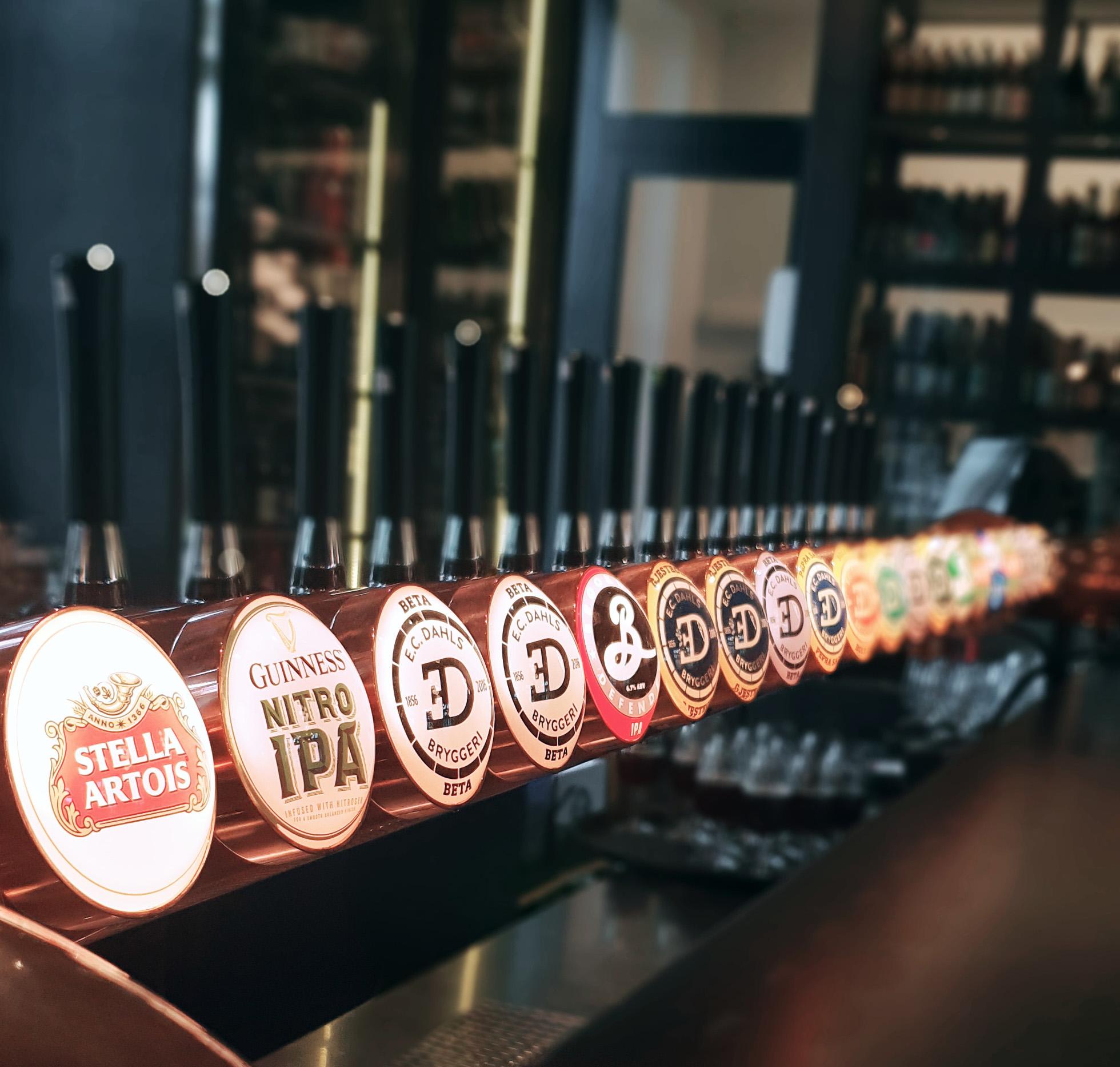 EC DAHLS bryggeri. Foto: Camilla Skaget Hansen