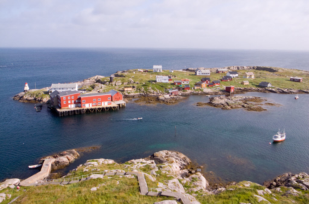 Fiskeværet Halten utafor Frøya i Trøndelag. Foto: Aslak Raanes - Flickr