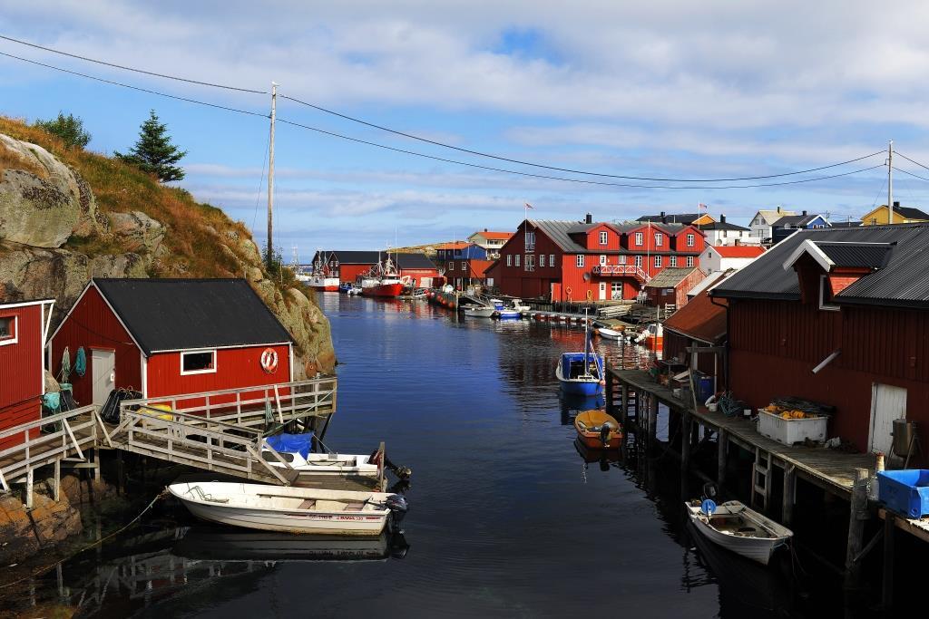 Mausundvær ved Frøya på kysten av Trøndelag, Foto: Marius Rua