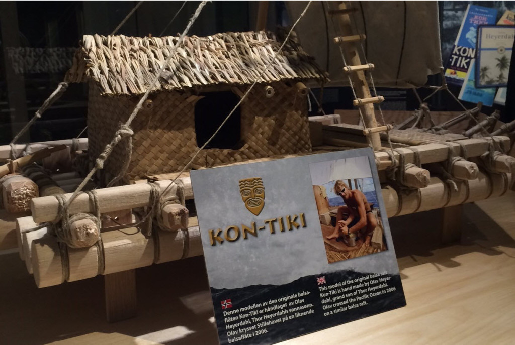 Bli kjent med Heyerdahl og Kon-Tiki i Tydal