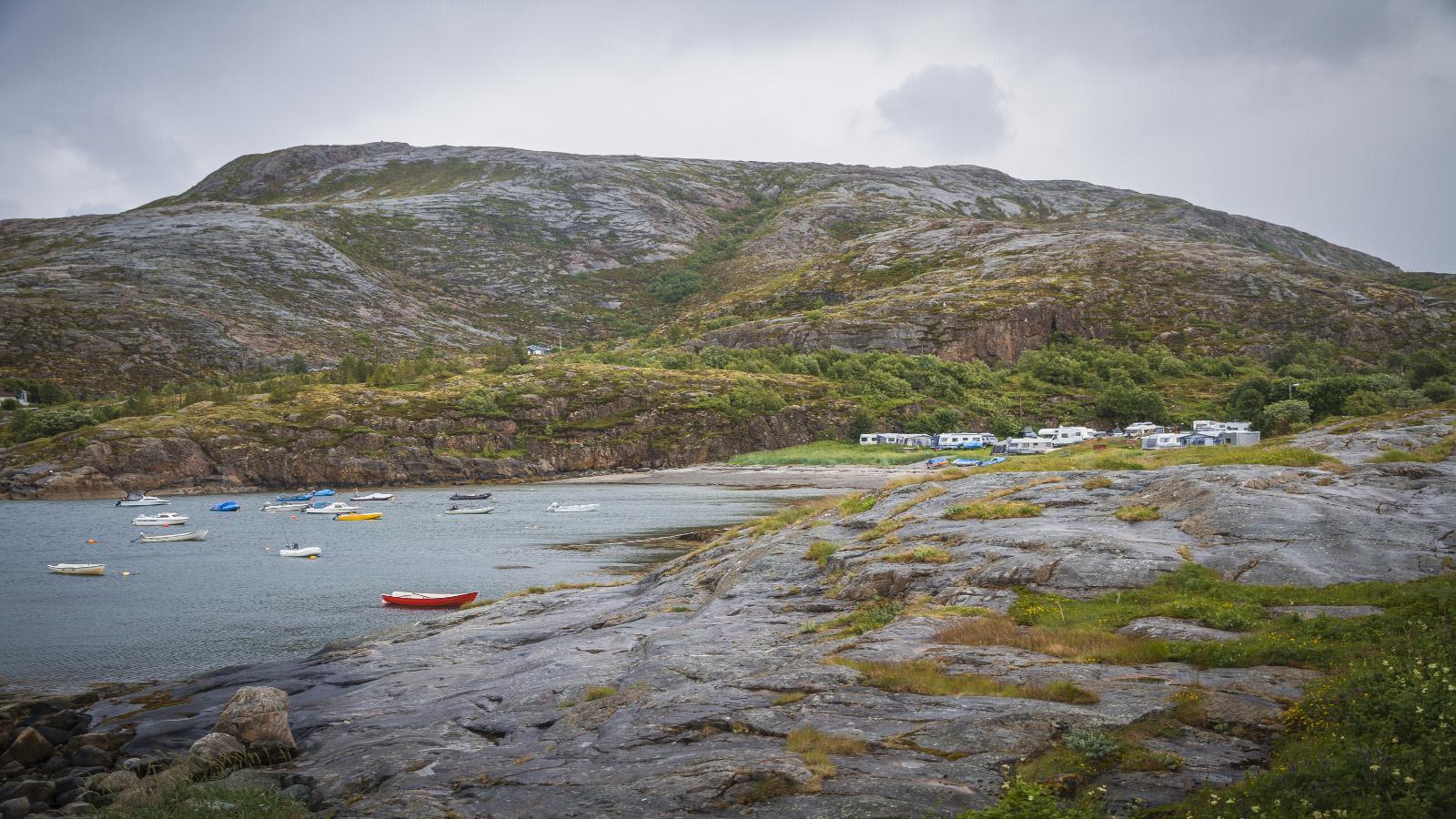 Camping i Flatanger på Namdalskysten, Trøndelag, Foto: Søderholm Steen /trondelag.com