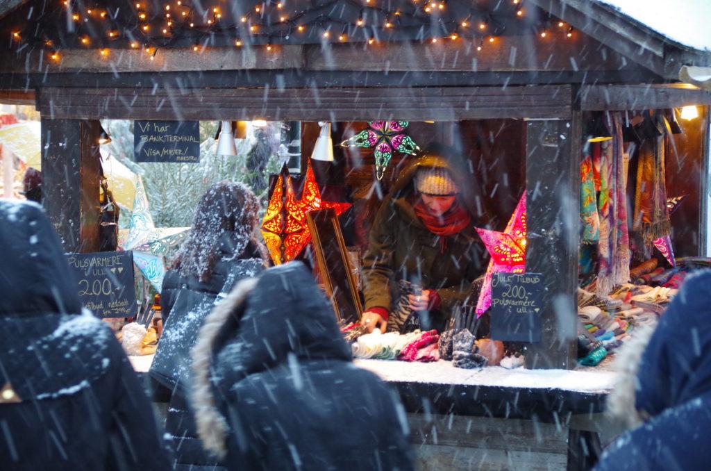 På Julemarkedet i Trondheim finner du utelukkende varer av høy kvalitet. Foto: Midtbyen Management