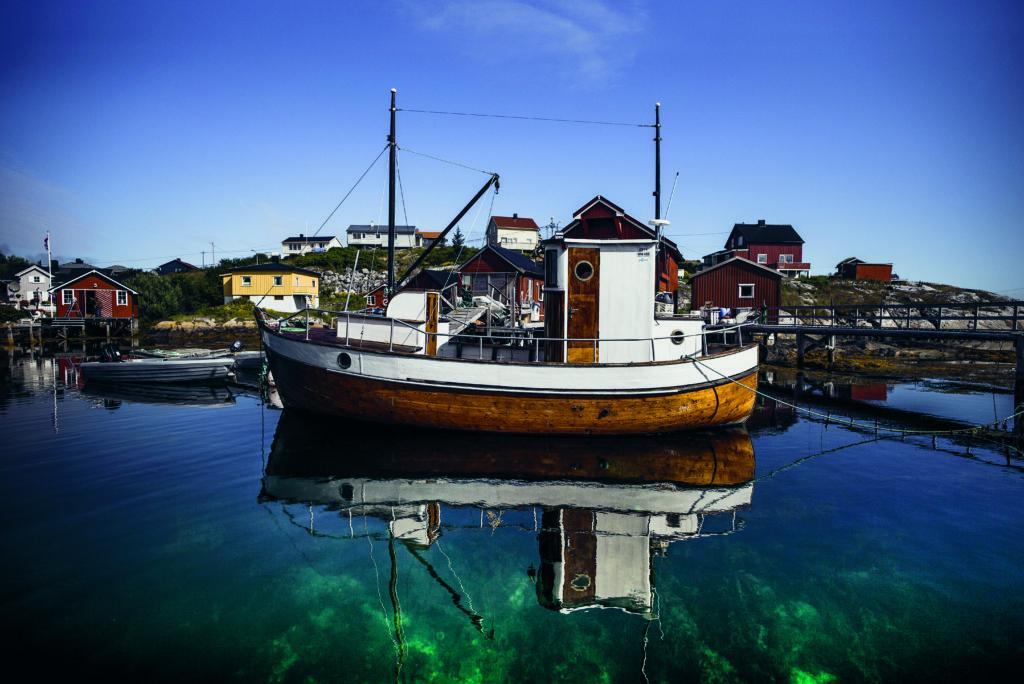 Utforsk kysten av Trøndelag