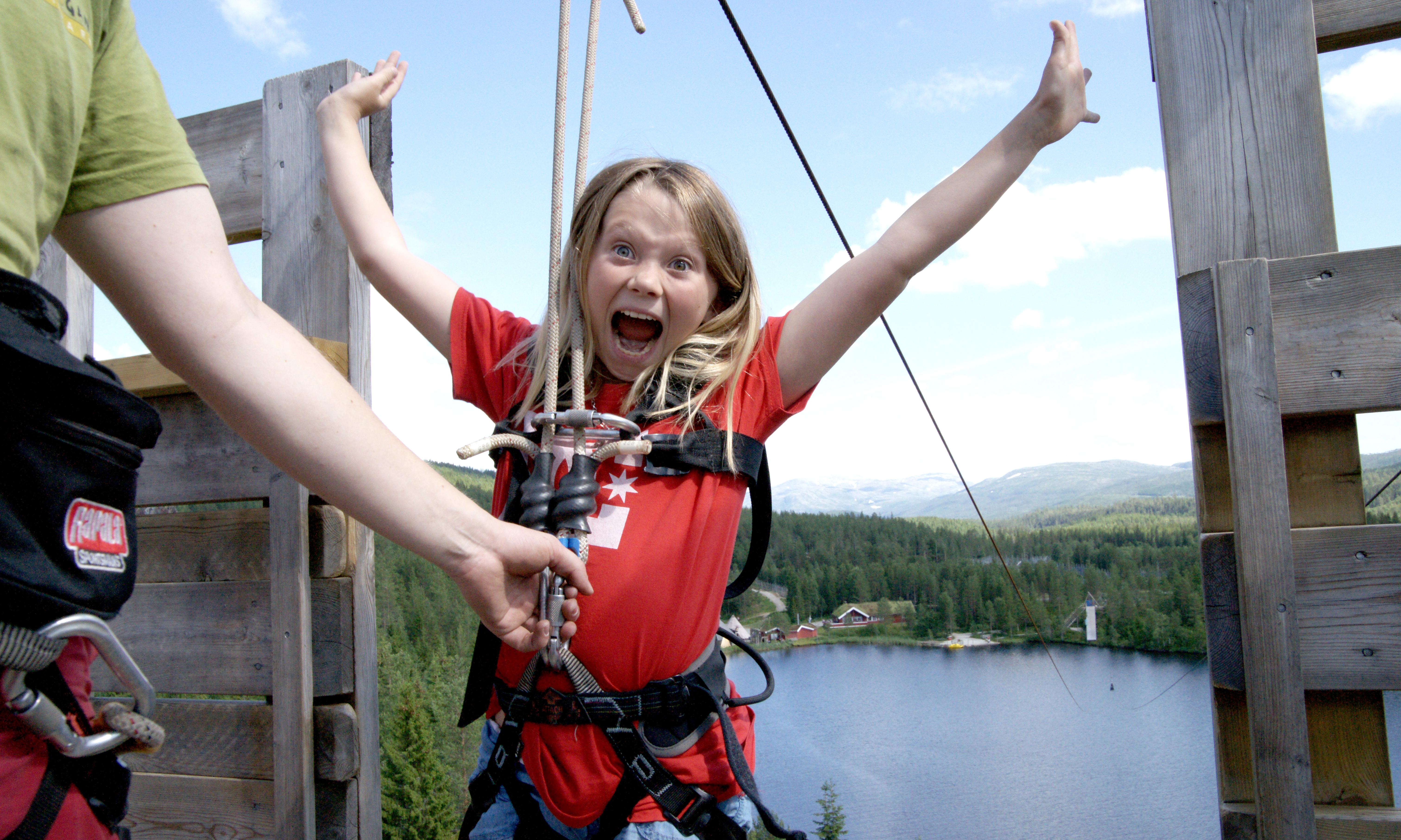 Namskogan Familiepark i Trøndelag. Foto: Robert Selfors /trondelag.com