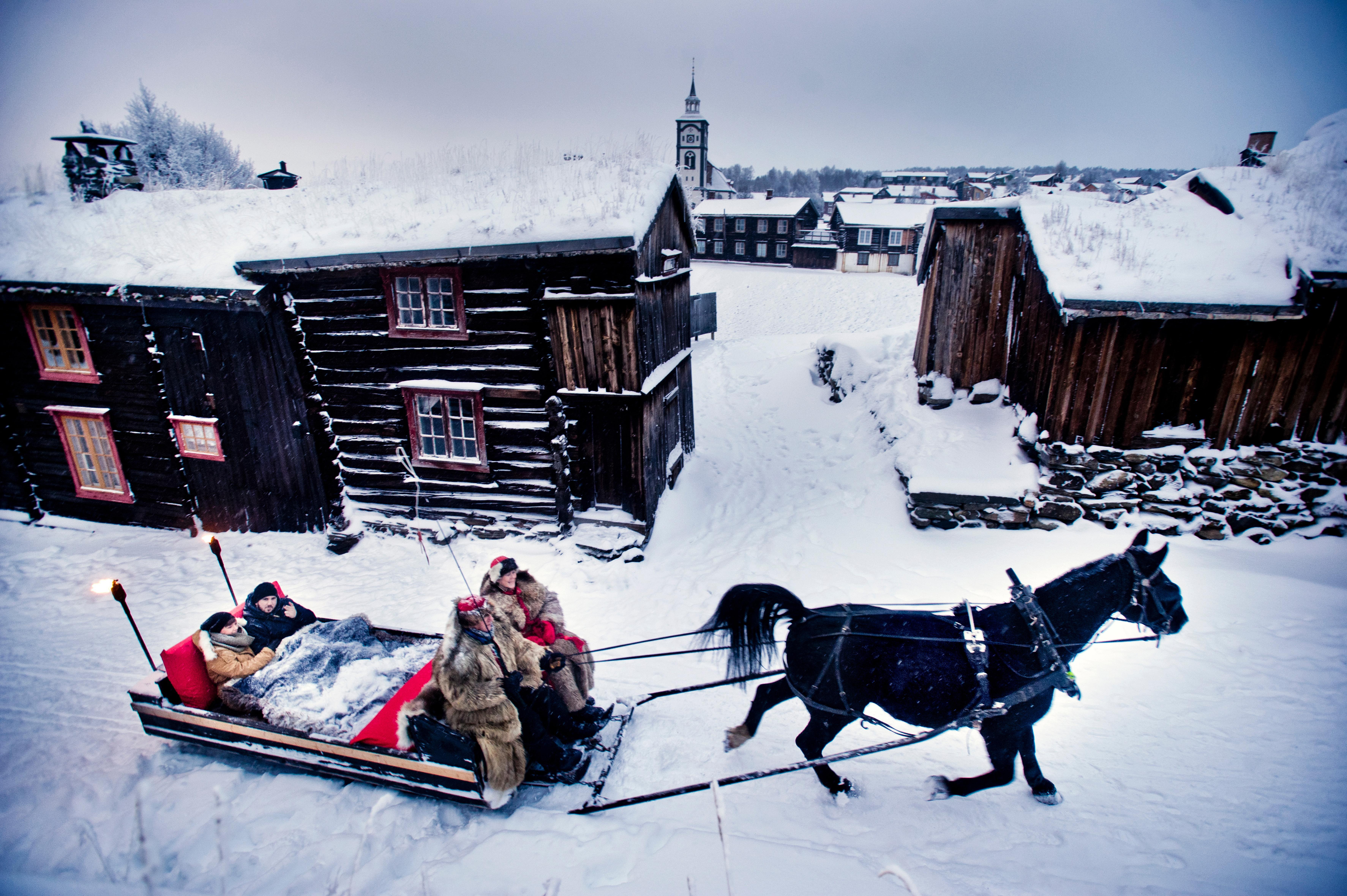 Vinter Røros. Foto: Thomas Rasmus Juell skaug / Dagbladet