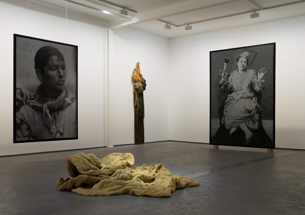 Foto: Galleri Dropsfabrikken, fra utstillingen til Anne-Karin Furunes og Hanne Friis
