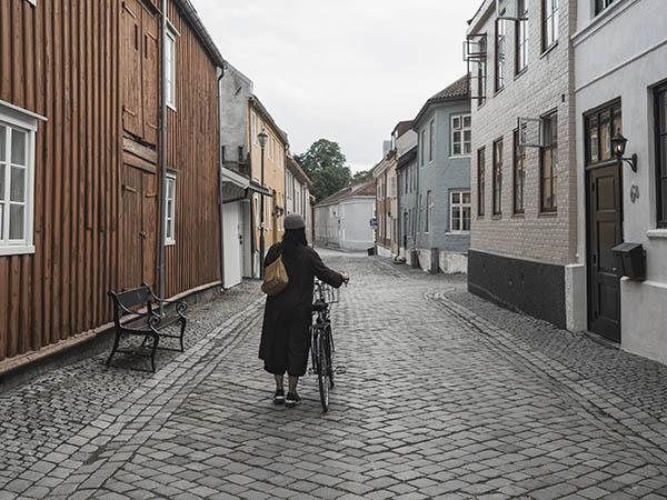 Veitevandring i Trondheim. Foto: Jarle Hagen